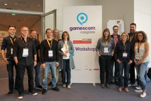 Schule und Games Referent*innen- und Orga-Team Foto: Alexandra Sieja