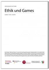 Deckblatt vom Abschlussbericht zum Projekt Ethik und Games -Spielraum-IMM-TH Köln